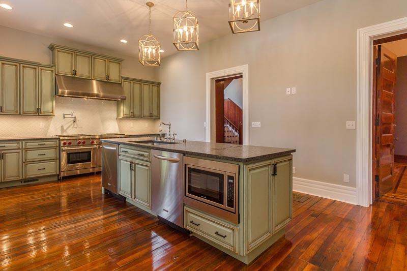Hardwood Flooring Install Kitchen
