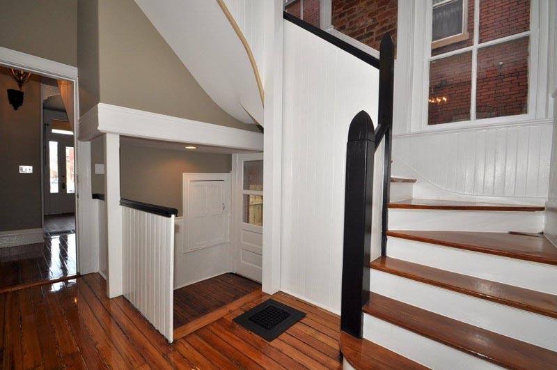 Hardwood Floor Refinish Staircase