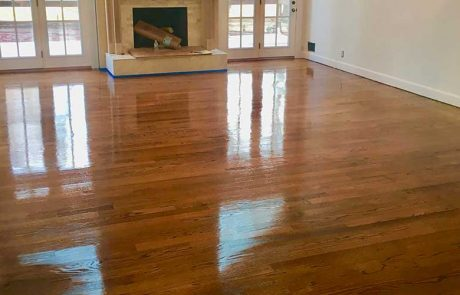 New Hardwood Floor installation